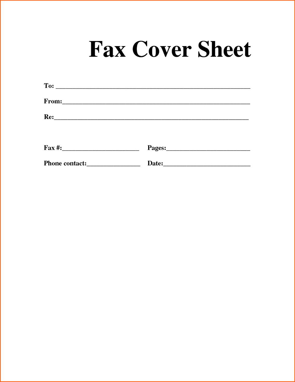 Free Cover Letter Templates To Print