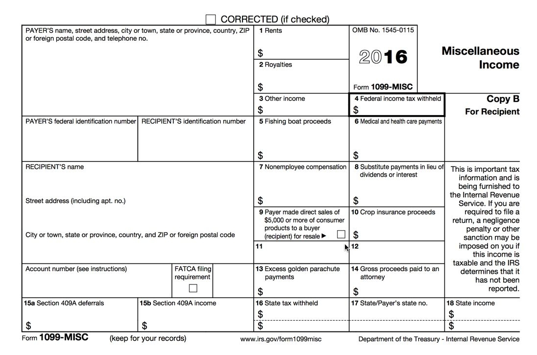 Process 1099 Misc Forms – Buildium Help Center Within 1099 Form Printable