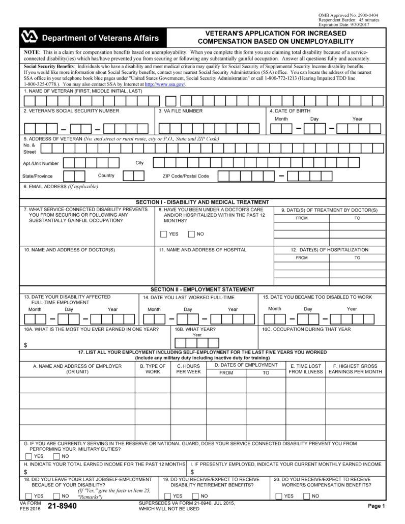 Edd Extension Forms For Disability